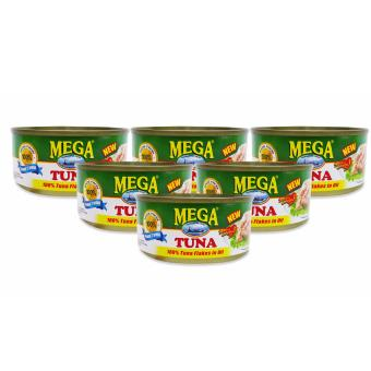 Harga Mega Tuna Flakes In Oil 180g 721009 6's