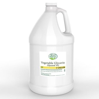 Harga Green Leaves Natural Vegetable Glycerin Glycerol VG 1 GALLON