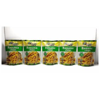 Bahaghari Banana Chips 100 grams Set of 5 Price Philippines