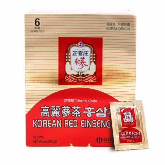 Harga Cheong Kwan Jang (CKJ) Korean Red Ginseng Tea 3g x 50 packs / box
