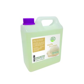 Harga Green Leaves Concentrated Vanilla Ice Cream Flavor Essence 500g