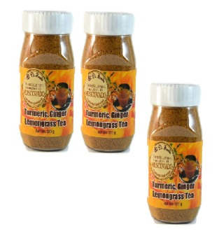 Harga 3 x Turmeric, Ginger and Lemongrass Tea 320 gms Bottle