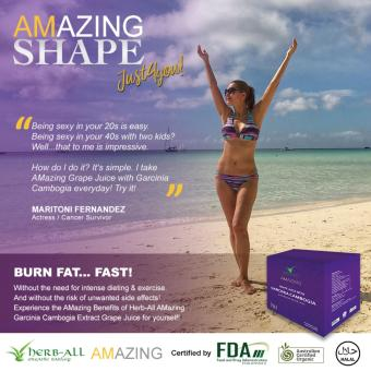 Harga Amazing Grape Juice with Garcinia Cambogia (10 sachets)