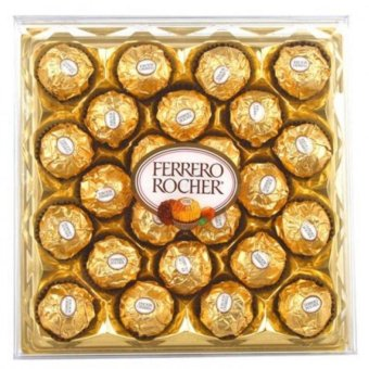Ferrero Rocher 24 pcs Box Shape   Price Philippines