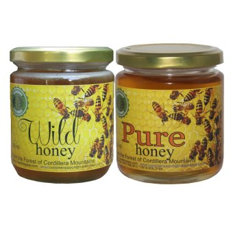 Harga Natural Cordillera Wild Honey Bundled With Natural Pure Raw Honey 200ml