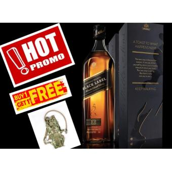 Harga Johnnie Walker Black Label 12 Year Old 1 Litre (PROMO)