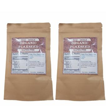 Organic & Raw Whole Flaxseed 100g Set of 2 Price Philippines