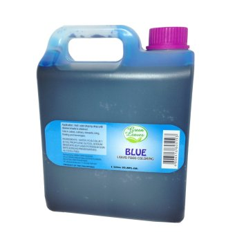 Harga Green Leaves Concentrated Blue Liquid Food Color 1Kg