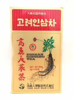 Harga Korean Super Ginseng Tea 3g Sachet of 100