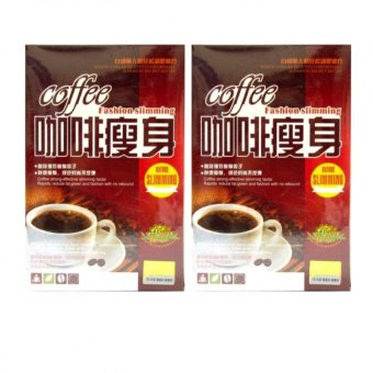 Coffee Fashion Slimming 10g (19 sachets), Set of 2 Price Philippines