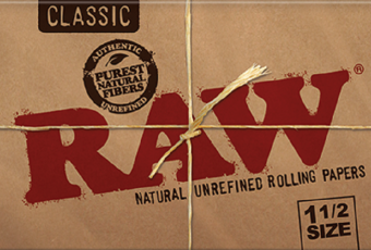Harga Cigarette Rolling Papers RAW 1 1/2 (Pack of 4)