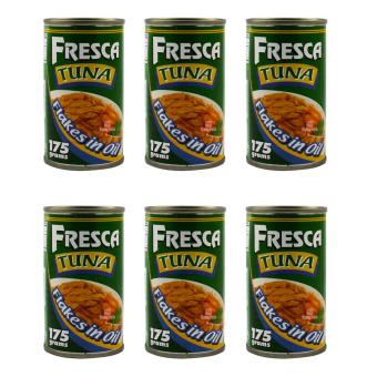 Harga Fresca Tuna Flakes in Oil 175g - Set of 6