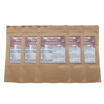 Organic & Raw Whole Flaxseed 100g Set of 5 Price Philippines