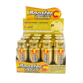 Harga Booster C Energy Shot Genius variant 60 mL Set of 12 (Gold)