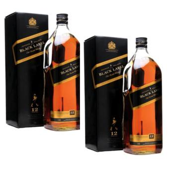 Harga Johnnie Walker Black Label 12 Year Old Magnum 3 Litres, Set of 2