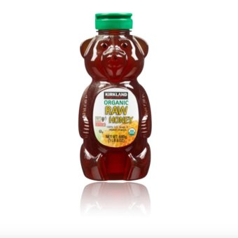 Harga Kirkland Signature Organic Raw Honey Bear 680g