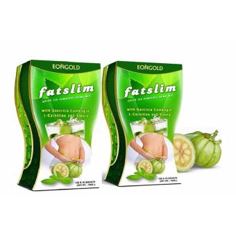 Harga Fatslim - Green Tea Drink Mix with Garcinia Cambogia (20 sachet)