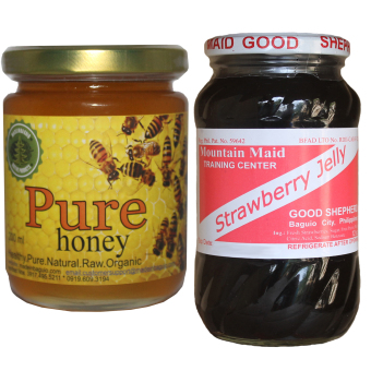 Harga Natural Pure Raw Honey Bundle With Good Shepherd Strawberry Jelly