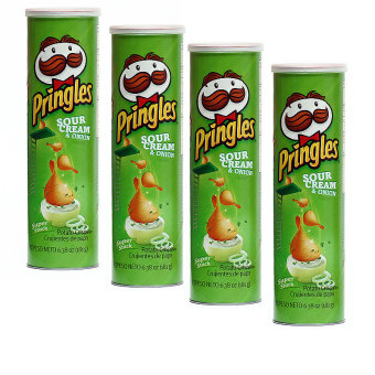 Pringles Sour Cream and Onion (Pack of 4) Price Philippines