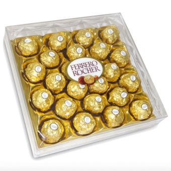 Ferrero Rocher 24pcs (Box Shape) Price Philippines