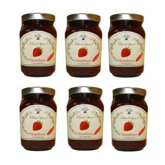 Island Gems Strawberry Jam Set of 6