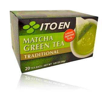 ITO EN Matcha Green Tea Traditional 20bags