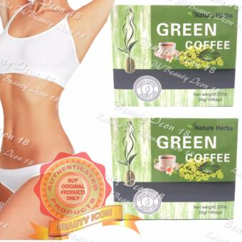 Japan Nature Herbs Green Coffee 20g x 10s (Set of 2)
