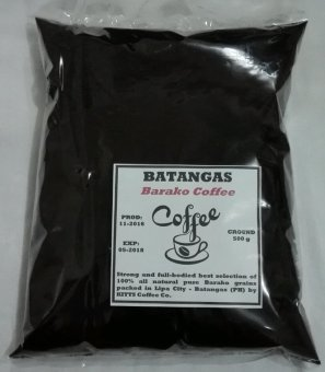 Kitts Coffee Batangas Barako Ground Coffee 500g