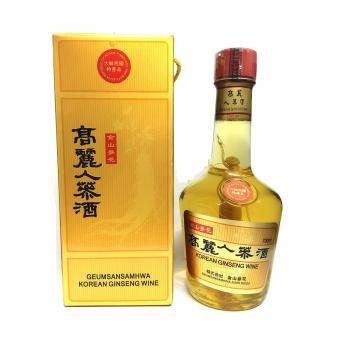 Korean Ginseng Wine w/Ginseng Root 700ml