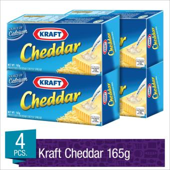 Kraft Cheddar Cheese 165g - Set of 4