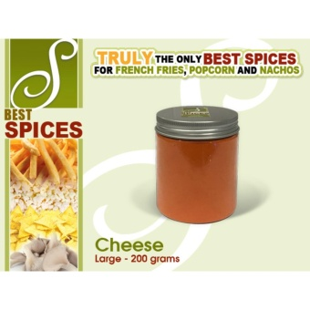 Large Cheese Best Spices Flavor powder French Fries popcorn nachosflavorings 200grams seasoning Price Philippines