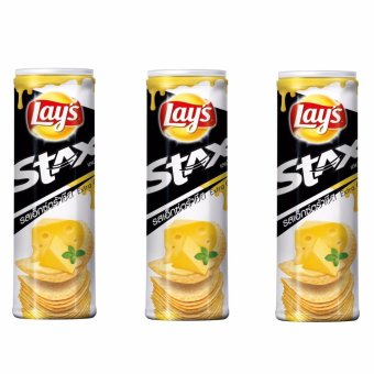 LAY'S Stax Extra Cheese 100 grams ( SET OF 3) Price Philippines