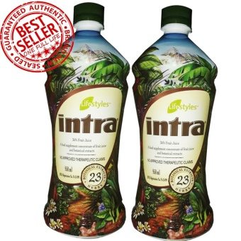 Lifestyles Intra 23 Herbal Juice (2 Bottles)