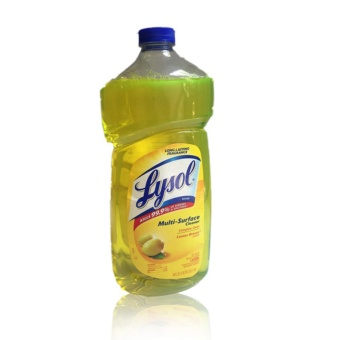Lysol Multi Surface Cleaner Lemon Breeze Scent 40 Fl. (1.18L) withFREE Flawless Papaya Soap