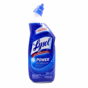 LYSOL New Toilet Bowl Cleaner 709ml Best Bundle Set of 4 - 5