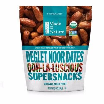 Made in Nature Organic Dried Fruit Degleet Noor Dates 170g Price Philippines