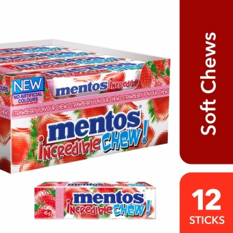 Mentos Incredible Chew Strawberry
