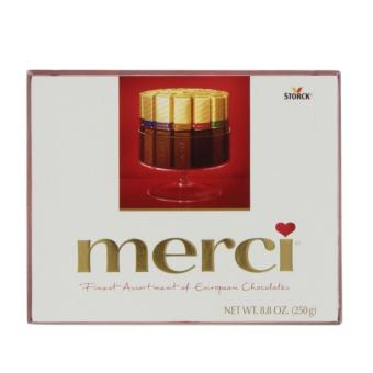 Merci Finest Selection Assorted European Chocolate 250g RED (Pack of 2)