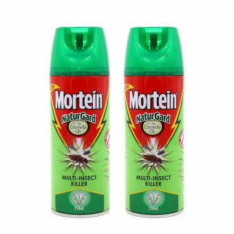 MORTEIN NaturGard Multi-Insect Killer With Citronella Oil 250ml Set of 2