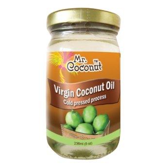 Mr.Coconut Extra Virgin Coconut Oil Cold press 236ml (8oz) pack of 1