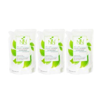 Nature to Nurture Liquid Laundry Detergent Free & Clear 800mlRefill pack set of 3