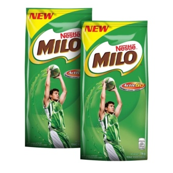 NESTLÉ MILO ACTIV-GO High-Malt 1kg PACK OF 2