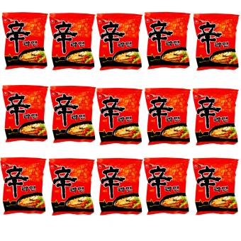 Nongshim Shin Ramen 120g Set of 15