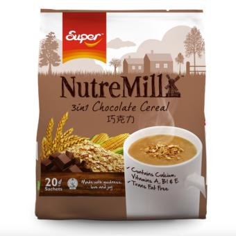 Nutre Mill 3in1 Chocolate Cereal Drinks 30g x 20 Sachets