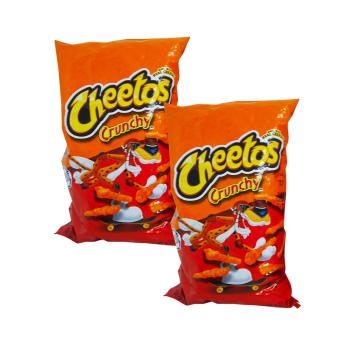 Orange Cheetos Crunchy Made w/ Real Cheese 2's 226.8g w42 017244 Price Philippines