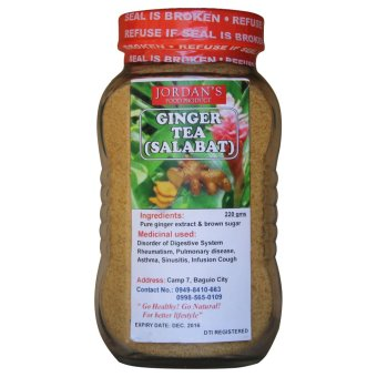 Organic Ginger Tea (Clear Brown)