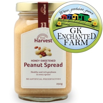 PEANUT SPREAD 250g from First Harvest | Peanut Butter | LocalIngredients | Gawad Kalinga Enchanted Farm
