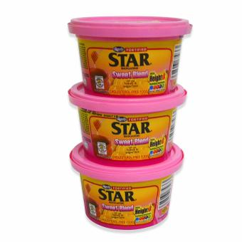 Pink Magnolia Star Margarine Sweet Blend w/ Real Honey & SugarBits 100g 3's 037433 w51 (MP)