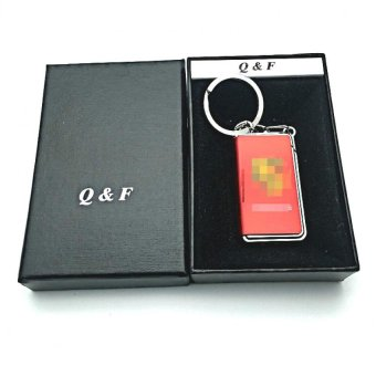 Q&F K-chain lighter with box (red) with FREE LD LACE