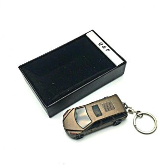 QF-Sports Car Lighter.(brown)Windproof Lighter with FREE LD LACE